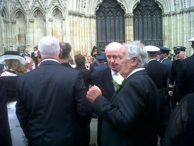 York Cathedral Armed Services event