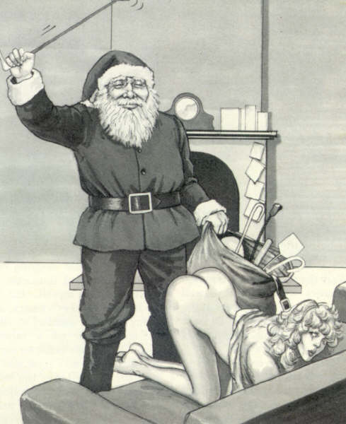 My sneaky plan to get that naughty boy list this year ;-)