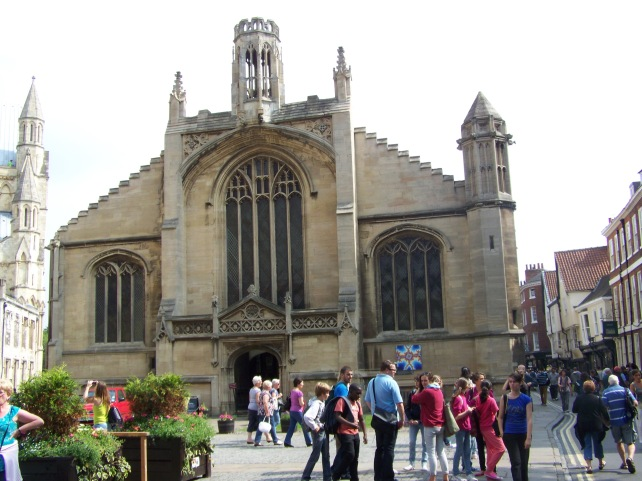 One of the many churches in York