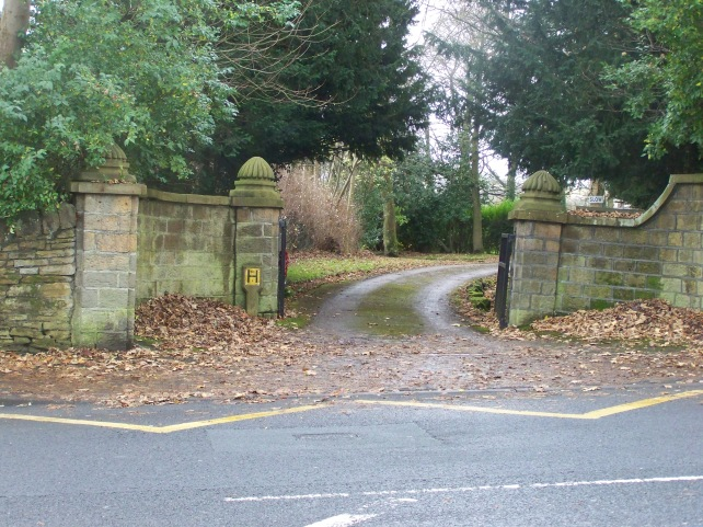 Driveway to a local Primary School