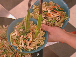 One of our new favourites Rachael Ray's Chicken Noodle, Hold The Soup.