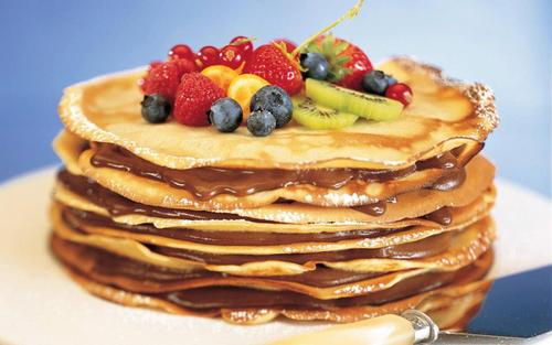 Pancake Day (Shrove Tuesday) is on 12th February.  We celebrate that as a family with loads of pancakes and maple syrup.