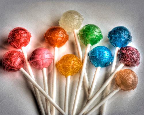 The little in me likes lollipops ;-)