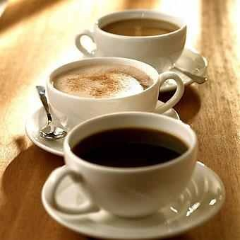 I live and love coffee, I don't drink much alcohol or juice.
