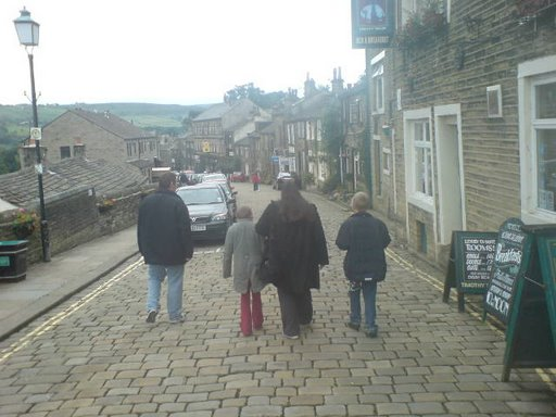 This is last picture of all my kids and I together we were at Haworth.