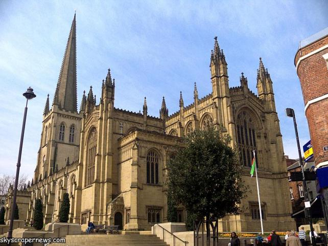 Wakefield Cathedral (Found through a Google Search)