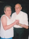 My mum with a family friend I called Uncle Wills.  They have both passed now, but I sure they are dancing loads where ever they are.